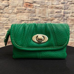 Handbags - Small Green Leather Wallet